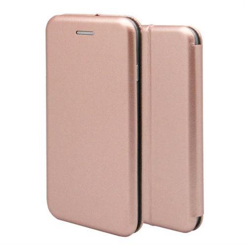 Θήκη Flip Book inos Apple iPhone 7/ iPhone 8 Curved M-Folio Ροζ-Χρυσό