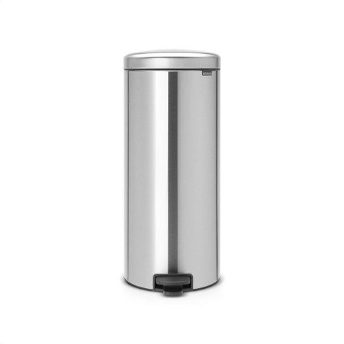 Brabantia Δοχείο απορριμάτων 30 λτ. Matt Steel σειρά New Icon