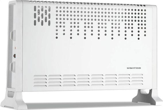 United Θερμοπομπός Convector Turbo Fan 2000W UHC-886