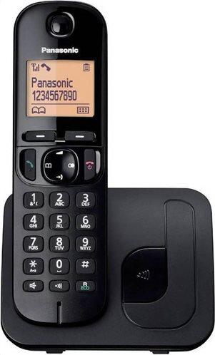 Panasonic Ασύρματο Τηλέφωνο KX-TGC210GRB Μαύρο