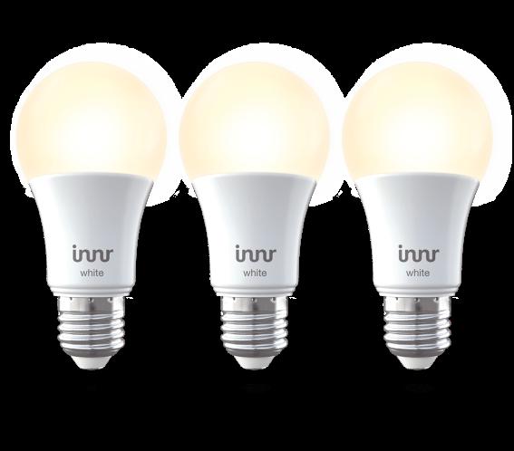 Innr Έξυπνη Λάμπα Smart Bulb E27 White 806lm Zigbee 3.0 3-pack