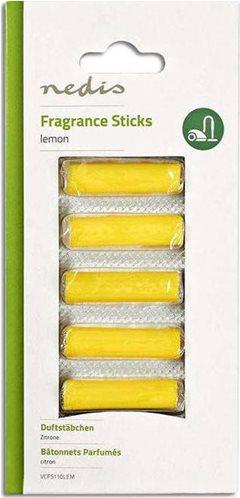 NEDIS Αρωματικά sticks για ηλεκτρικές σκούπες, με άρωμα λεμονιού, VCFS110LEM