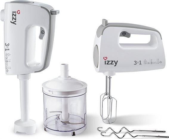 Izzy Μίξερ Χειρός 3-σε-1 IZ-1001 400W