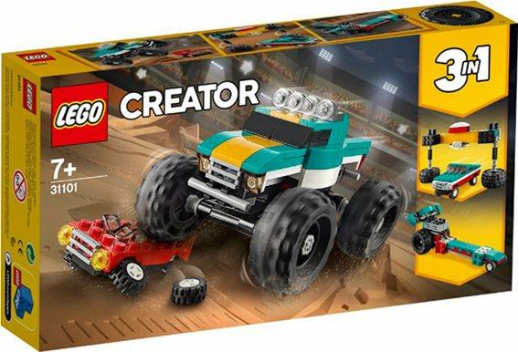 Lego Creator 3-in-1: Monster Truck 31101