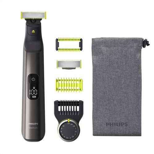 Philips Ξυριστική Μηχανή Προσώπου Επαναφορτιζόμενη One Blade Pro QP6550/15