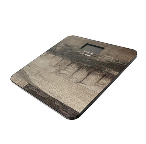 Gruppe Ψηφιακή Ζυγαριά YHB1447 Καφέ Dark Wood 150kg