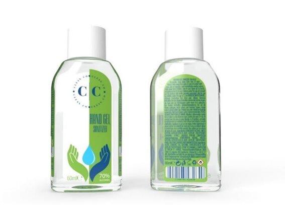 Clean Co Αντισηπτικό Gel Χεριών 70% Alcohol 60ml