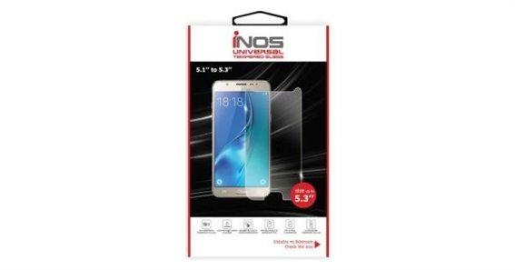 Inos Tempered Glass Universal 9H 0.33mm για Οθόνες 5.3'' (135.24 x 68.09mm) (1 τεμ.)