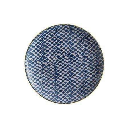 Maxwell & Williams Πιάτο Γλυκού/Φρούτου Woven Blue Laguna 20cm