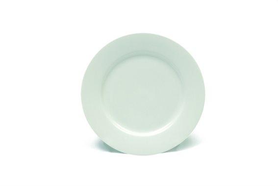 Maxwell & Williams Πιάτο Γλυκού Rim White Basics 19cm