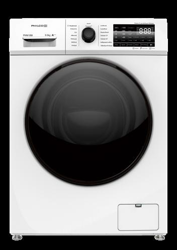Philco Πλυντήριο Ρούχων 9Kg PWM 958 (Inverter) - 3 χρόνια εγγύηση
