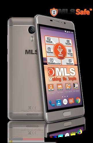 MLS MX Κινητό Smartphone 32GB Mocha Dual Sim