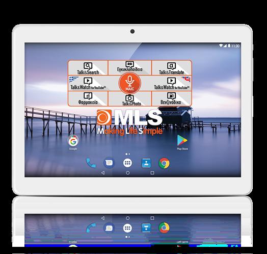 "MLS Tablet Angel 9.6"" 3G 2018 2GB/32GB"