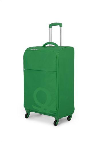 Benetton Βαλίτσα trolley καμπίνας 55x40x20cm σειρά BLOW Green