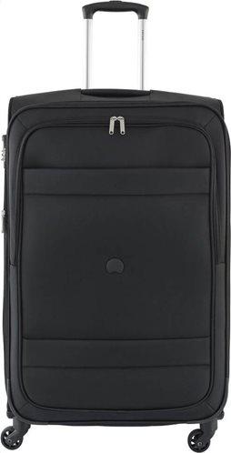 Delsey Βαλίτσα μεσαίο μέγεθος 69x43x28-32 cm σειρά Indiscrete Soft Black