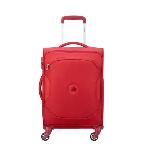 Delsey βαλίτσα καμπίνας 55x35x25cm σειρά Ulite Red
