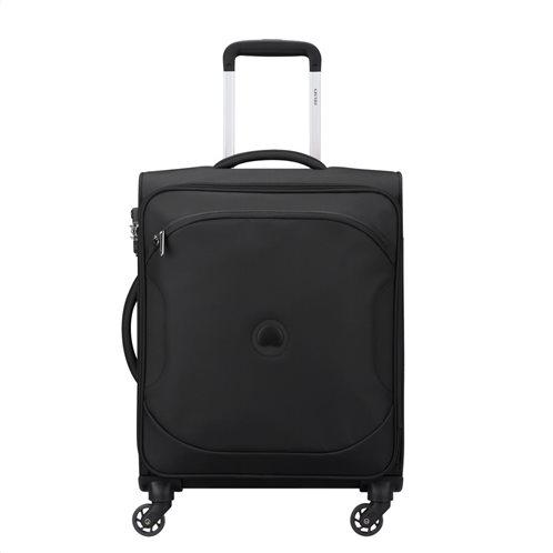 Delsey βαλίτσα καμπίνας slim 55x40x20cm σειρά Ulite Black