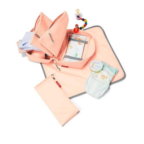 Reisenthel Babycase Τσάντα Αλλαξιέρα Ώμου / Χειρός Ροζ