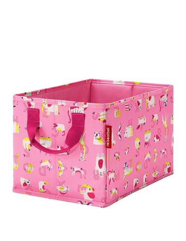 Reisenthel κουτί αποθήκευσης 34x22x25cm Kids ABC Friends Pink