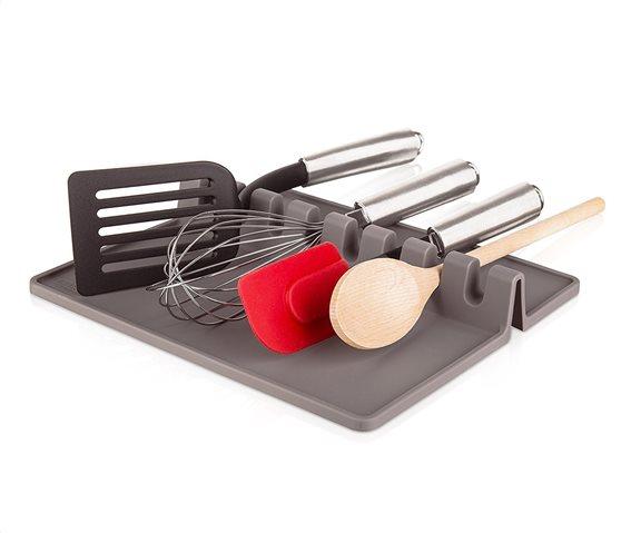 Tomorrows Kitchen Βάση για Εργαλεία Κουζίνας XL Γκρι 22Χ26cm.