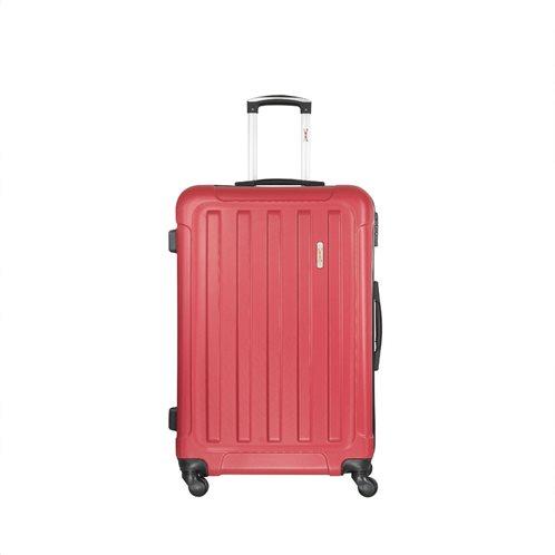 Travel to Be Βαλίτσα καμπίνας σκληρή με 4 ρόδες κόκκινη σειρά Hadena