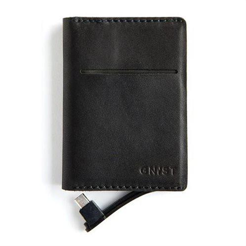 Unikia Gnist Power Bank για Android με θήκη για κάρτες μαύρο