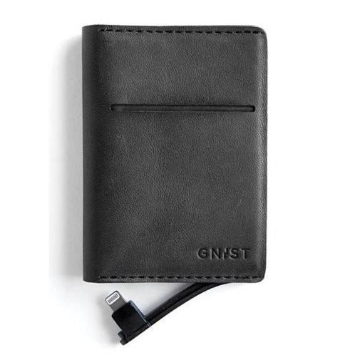 Unikia Gnist Power Bank για iPhone με θήκη για κάρτες μαύρο