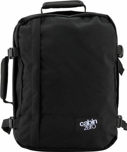 Cabin Zero Τσάντα πλάτης 39x29,5x20cm 28lt σειρά Travel Classic Absolute Black