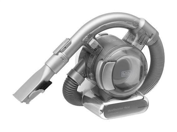 Black+Decker Επαναφορτιζόμενο Σκουπάκι Li-Ion Dustbuster® Flexi με εξάρτημα δαπέδου 18V