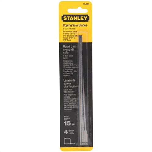 Stanley Ανταλλακτικές λάμες Συμβατές με Πριόνι Stanley 0-15-106 4τμχ