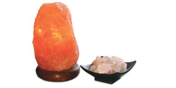 Jocca Q-MAX Φωτιστικό Πέτρα Ιμαλαΐων από αλάτι 10.2x17.1 cm