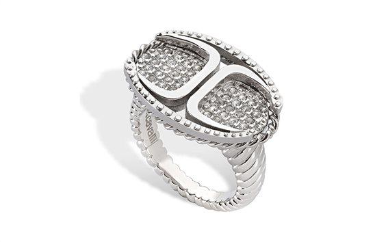 Just Cavalli SCAAD05014 Γυναικείο Κόσμημα Δαχτυλίδι από ανοξείδωτο ατσάλι