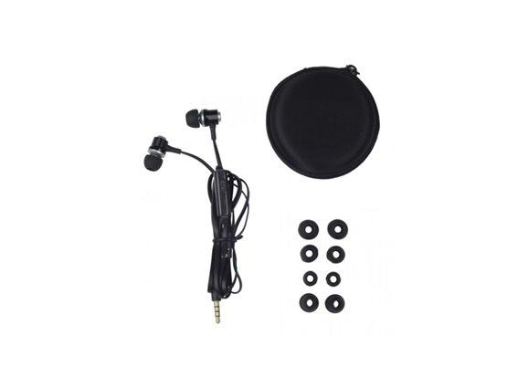 Grundig Ακουστικά Ψείρες - In-ear - Earbuds 86351 Μαύρο