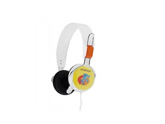 Flashtech Ακουστικά Κεφαλής FT-830 Λευκό