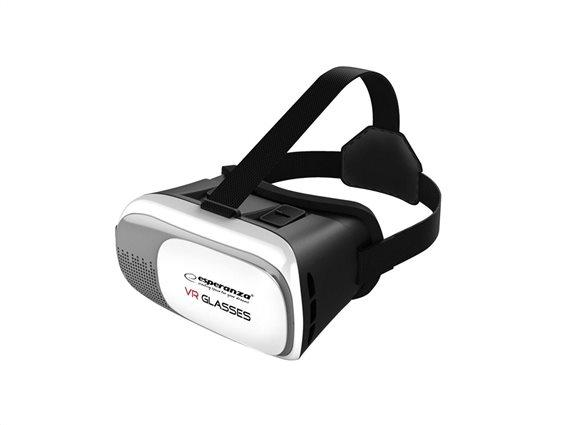 Esperanza Γυαλιά 3D VR εικονικής πραγματικότητας 360° για smartphones 3.5-6'', EMV300