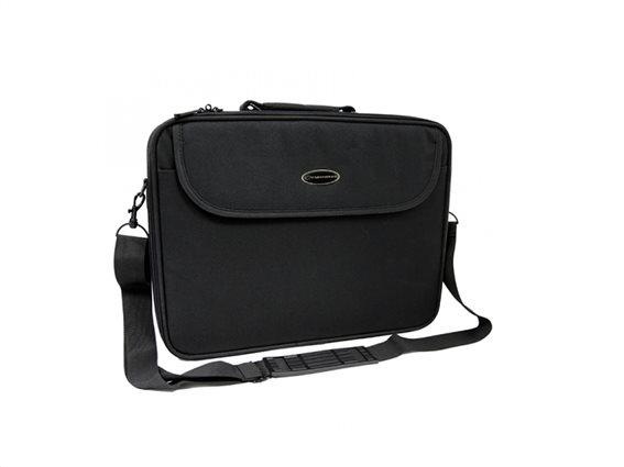 "Esperanza Υφασμάτινη Τσάντα για Λάπτοπ Notebook Classic 15.6"" σε Μαύρο χρώμα, ET101"