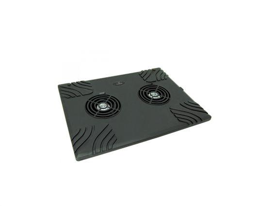 "Esperanza Βάση ψύξης για Laptop και Notebook έως 15.6"" Cooling Pad σε Μαύρο χρώμα, TA102"