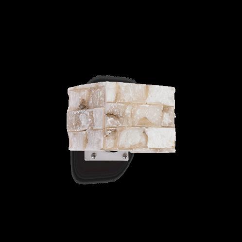 Ideal Lux Φωτιστικό Τοίχου - Απλίκα Μονόφωτο CARRARA AP1 000619