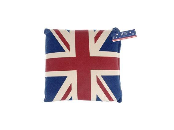 Διακοσμητικό Μαξιλάρι 48x48cm με Σημαία Αγγλίας, M18000020