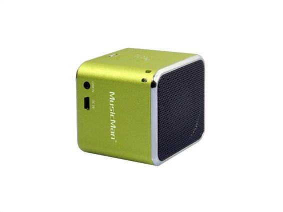 Technaxx Ηχεία Bluetooth BT-X2 Πράσινο