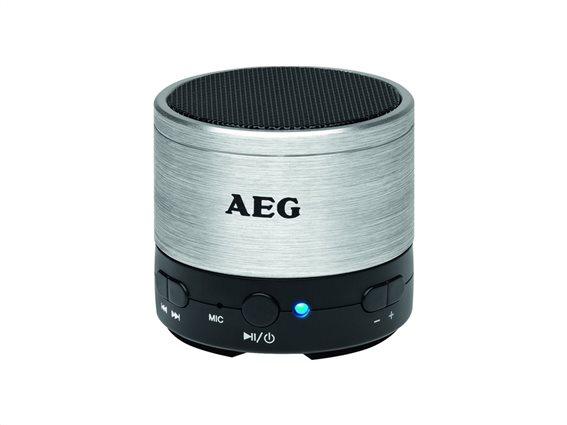 AEG Ηχεία Bluetooth BSS 4826 Ασημί