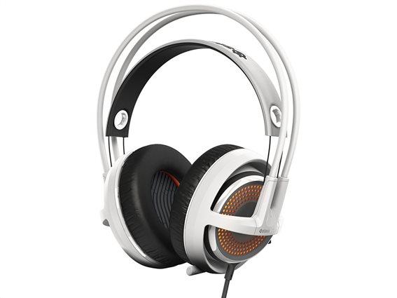 SteelSeries Ακουστικά Κεφαλής Siberia 350 Λευκό