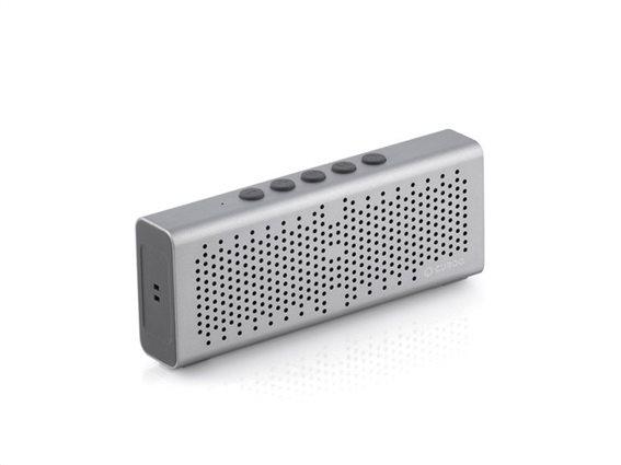 CuboQ Ηχεία Bluetooth V0100167 Ασημί