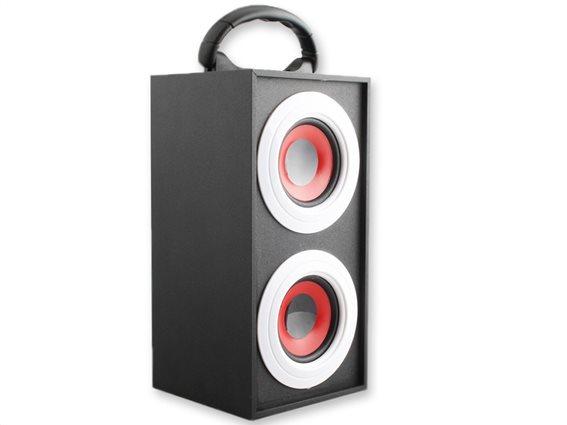 SoundLogic Φορητά Ηχεία 17680 Μαύρο