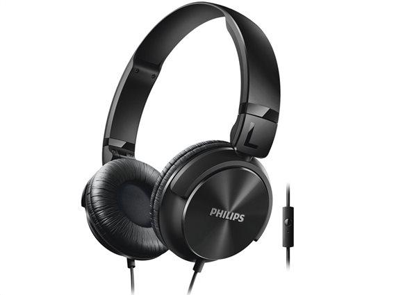 Philips Ακουστικά Κεφαλής SHL3065BK Μαύρο