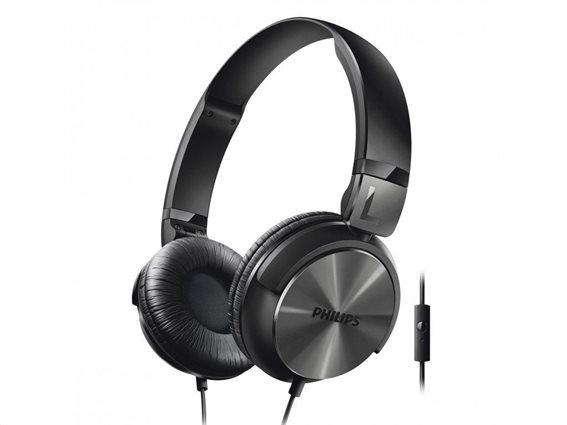 Philips Ακουστικά Κεφαλής SHL3165BK Μαύρο