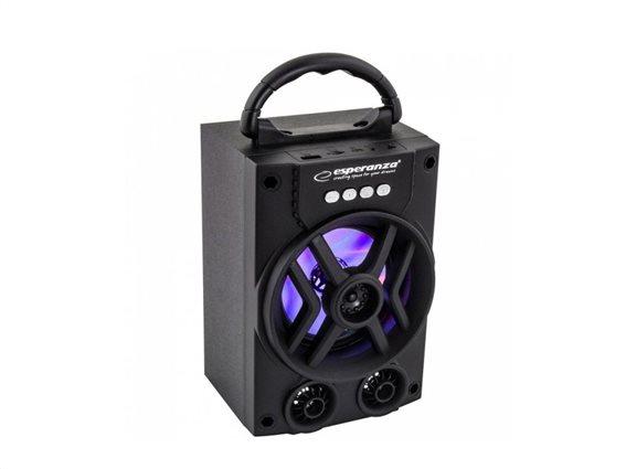 Esperanza Ηχεία Bluetooth EP130 Μαύρο