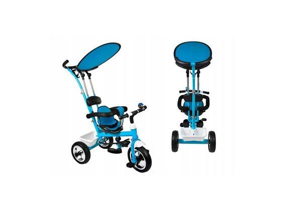 Παιδικό τρίκυκλο ποδήλατο με προσαρμόσιμη Τέντα για ηλικίες 3+, RT6056