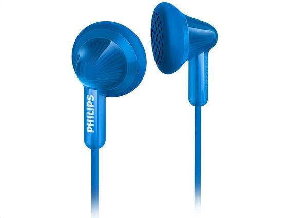 Philips Ακουστικά Ψείρες - In-ear - Earbuds SHE3010BL/00 Μπλε