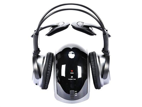 Grundig Ακουστικά Κεφαλής 38625 Μαύρο